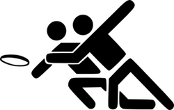 Ultimate Frisbee Logo