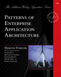 Patterns of Enterprice Application Architecture